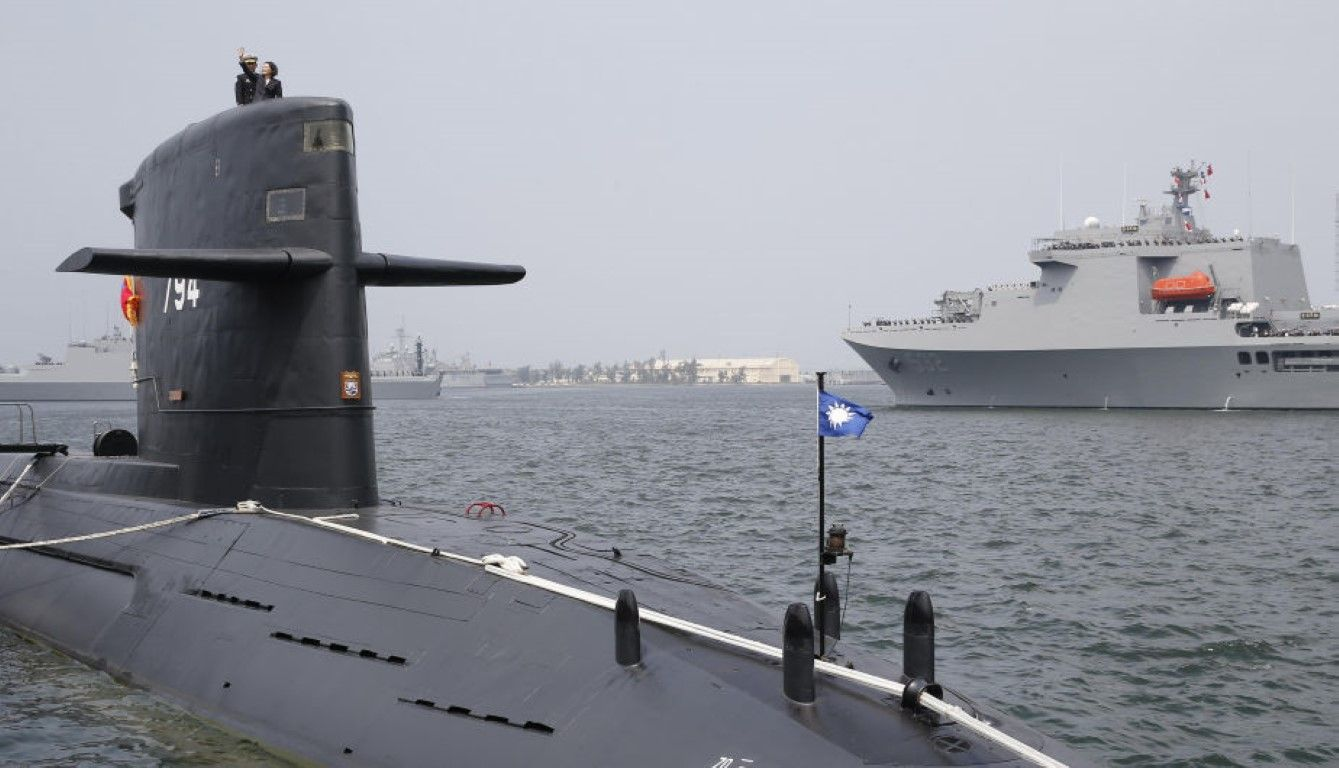 Resultado de imagen para submarinos de marina de taiwan