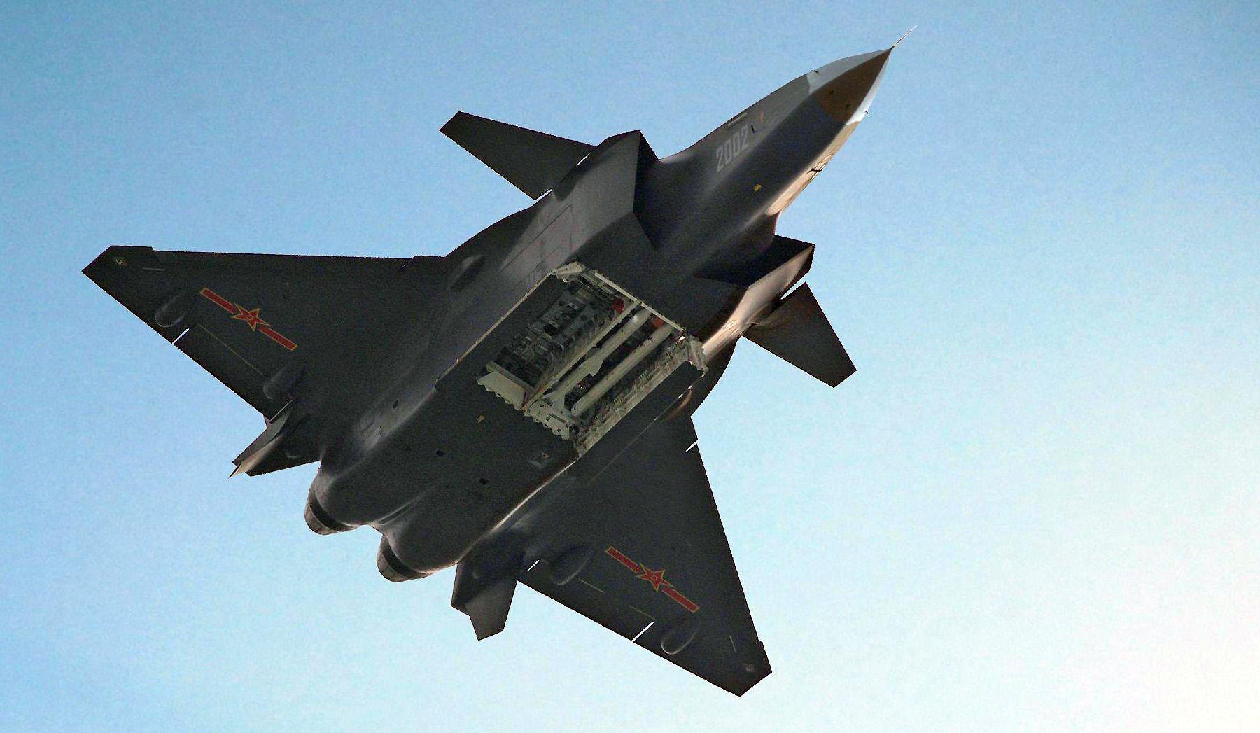 5be7b48b4e Por qué el avión J-20 de China no puede ser rival para los F-22 y F-35 de Estados  Unidos. – Galaxia Militar