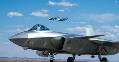El caza furtivo J-20 necesita muchas mejoras para ser un auténtico quinta generación. Cabecera