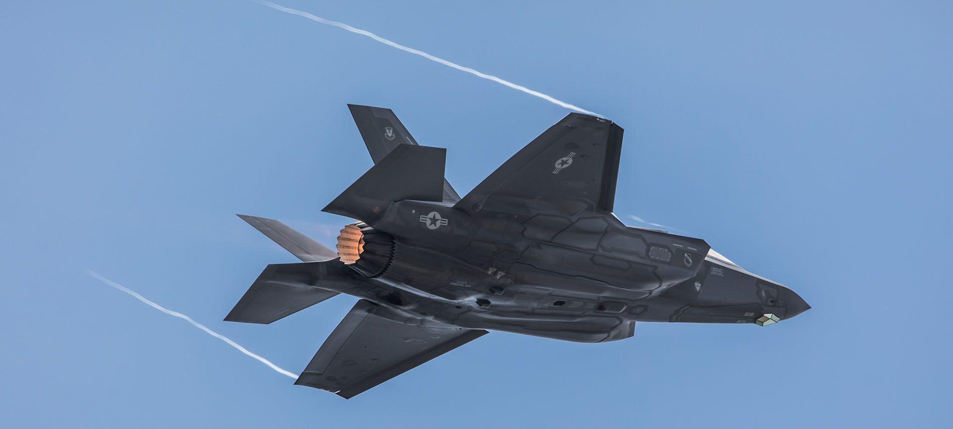 El F-35 incorporará en 2019 el Sistema Automático de Evitación de Colisión en tierra. Texto