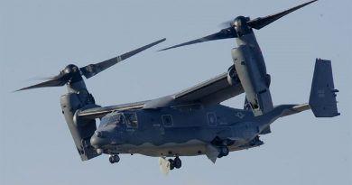 Estados Unidos desplegará esta misma semana aviones CV-22 Ospreys en la base aérea de Yokota. Cabecera