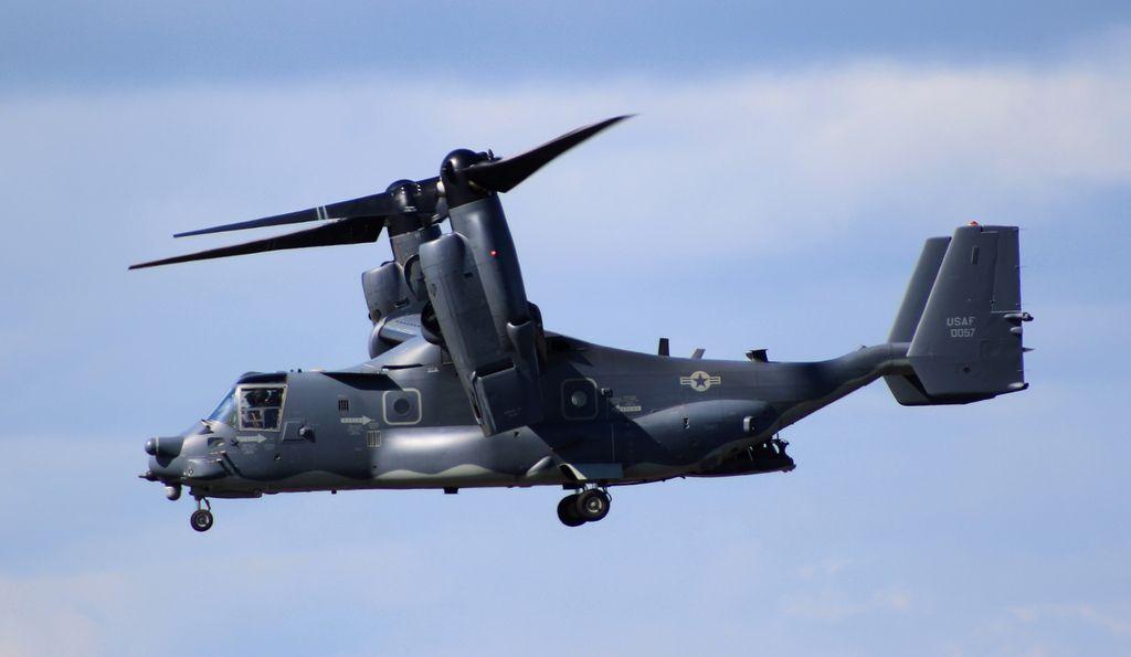 Estados Unidos desplegará esta misma semana aviones CV-22 Ospreys en la base aérea de Yokota. Texto