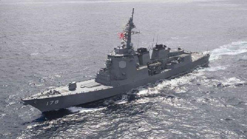 Japón lanza el primer barco de gran tamaño de la nueva clase de destructor 27DDG.text2
