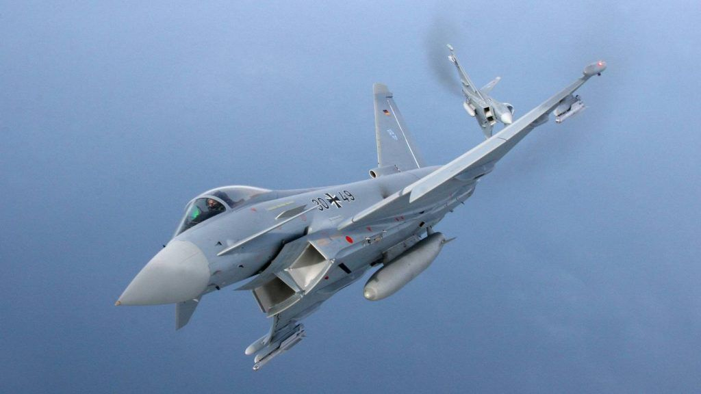 """Alemania y Francia ofrecen a España ser """"estado observador"""" en el nuevo avión de combate europeo.Texto2"""