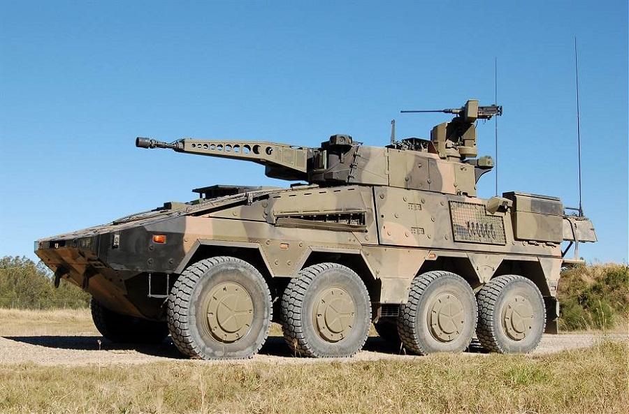 Los primeros vehículos blindados de reconocimiento CRV 8x8 Boxer, con la  torreta de 30 mm llegan a Australia. – Galaxia Militar